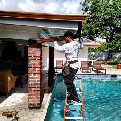 Rain Gutters Install